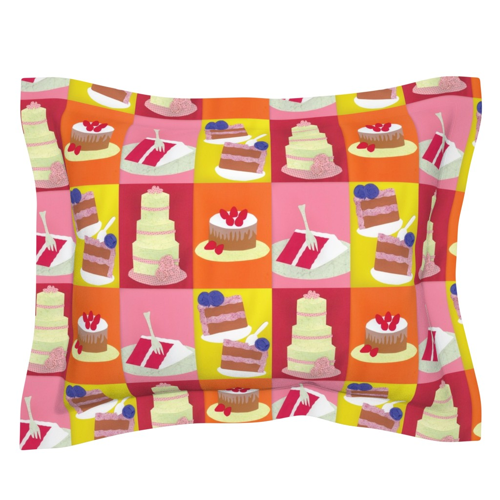 Sebright Pillow Sham featuring Hey! Isn't This Contest Making You Hungry? by owlandchickadee
