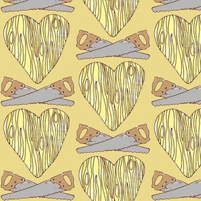 The Lumberjack Who Found the Wooden Heart - Yellow
