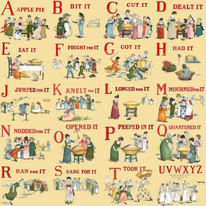 "Kate Greenaway's ""A Is For Apple"""