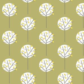 MOONLIGHT TREE OLIVE GREEN