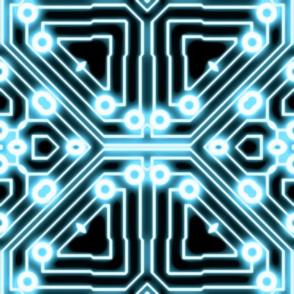 ELECTron - Blue / Black - Circle
