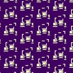 Broken Icon, Dark Purple