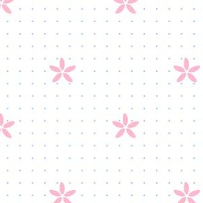 Rainbow Pastels - Flower Dots - © PinkSodaPop 4ComputerHeaven.com