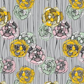 Fabulous Fifties Flowers