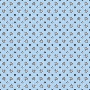 Tiny gear blue