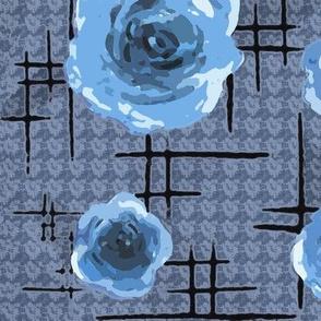 50s blue roses
