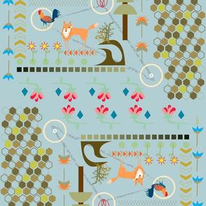 foxy pattern