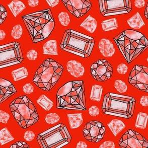 gem stones: garnet