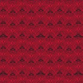 Mummer_-black on red