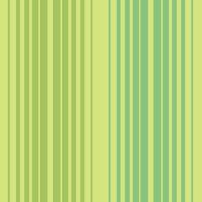 Retro Linear in Ginchy Green
