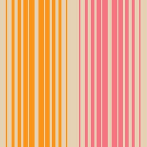Retro Linear in Purple Tangerine