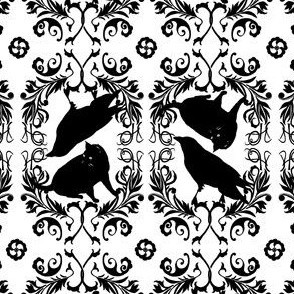 kitty raven brocade