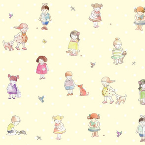 children_cartoon fabric