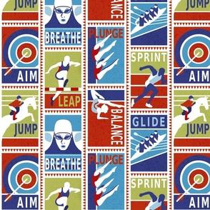 Jump Leap Plunge