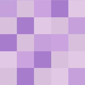 Checkerboard Purple