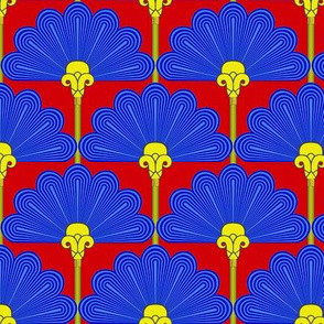 Thinking of Poirot -variations  -Ancient Egyptian colors 2a