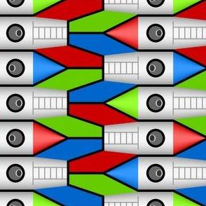 01337408 : rocket : finned solo 2j x 3