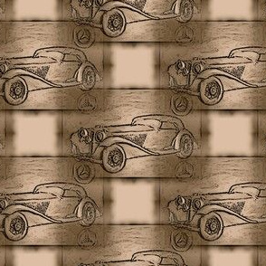 old_mercedes_beige_woodcarving