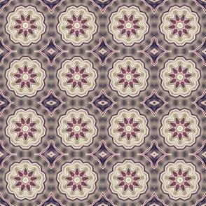 Digital Flower Pattern