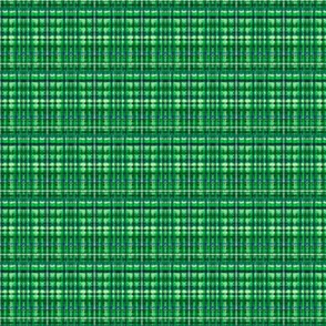 Camping green plaid