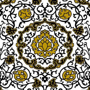Eleonora Di Toledo - Gold Stylized