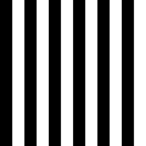 black and white 1 1/2 inch stripe