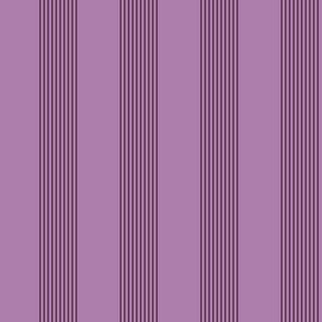 twilight stripes - mauve