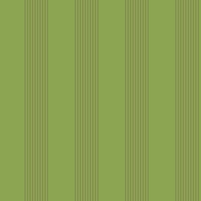 moss and copper stripes