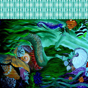Mermaid_at_Home_1 yard by 42 inches