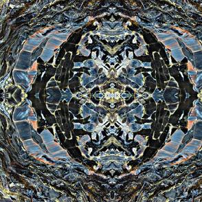 pietersite blue stone-ed