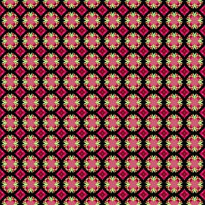 Pink & black pattern