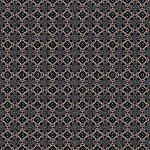 Black berries pattern