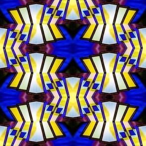 Art Deco Lamp Symmetry 2
