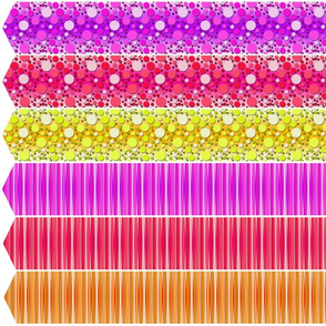 1/2 A Dozen Roses - Spots & Stripes Cut 'n' Sew