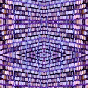 Metallic Rectangle Pattern