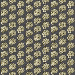 spiral_geo- grey, yellow, white