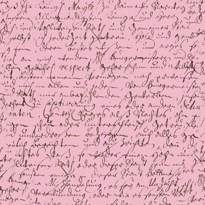 I Thought I'd Write To Juliet... Pink