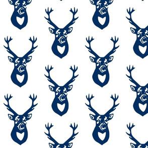 Navy Blue Deer