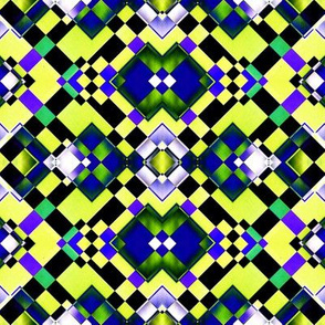 Green and Blue Squares