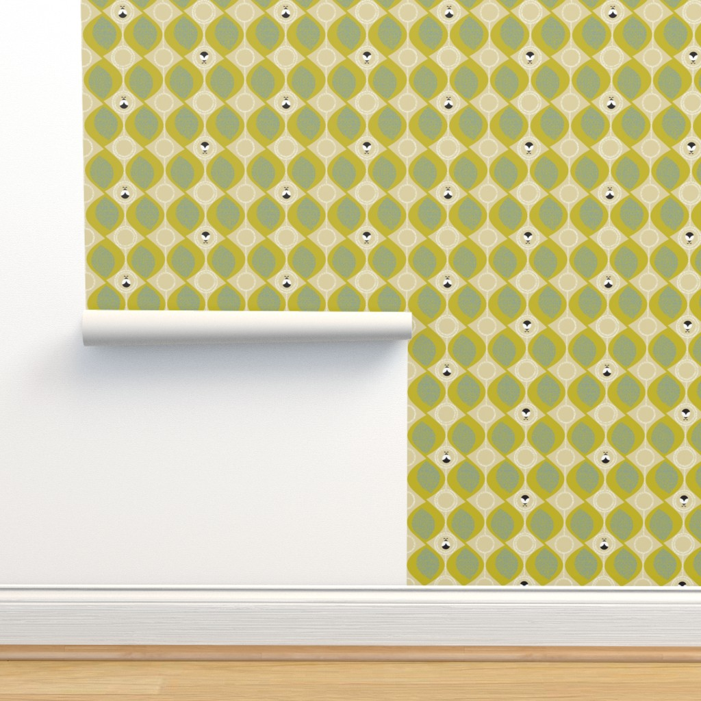 Isobar Durable Wallpaper featuring leaves_and_bugs by ottomanbrim