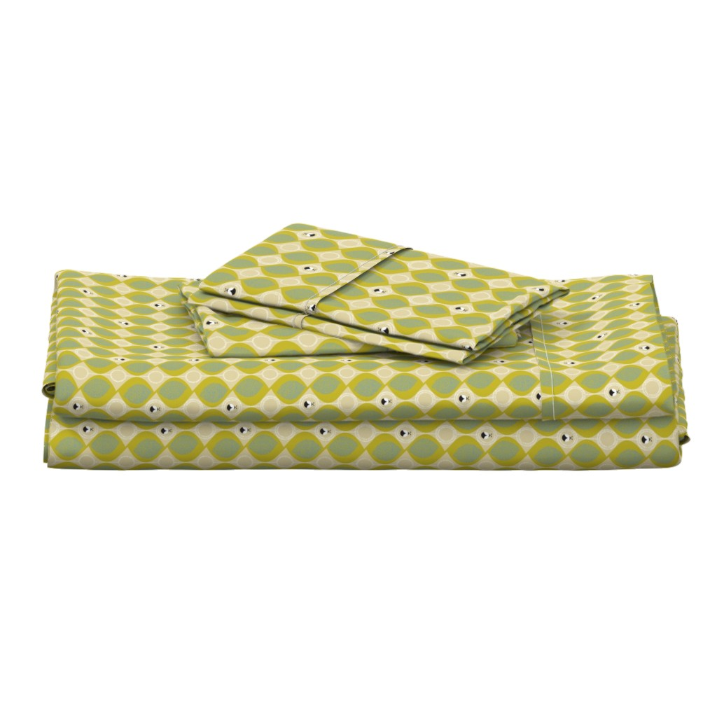 Langshan Full Bed Set featuring leaves_and_bugs by ottomanbrim