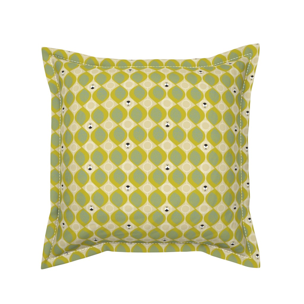 Serama Throw Pillow featuring leaves_and_bugs by ottomanbrim