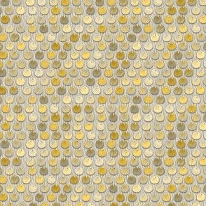 spangles mermaid gold sequins