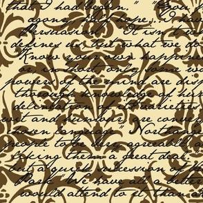 Jane Austen Damask