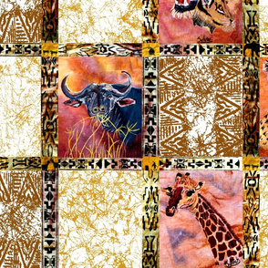 The_Big_6_African_Animals