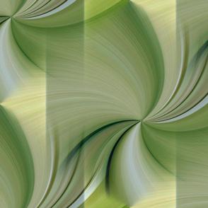 Romance Green Swirls