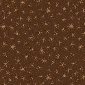 stellate whimsy - oak brown