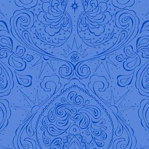 Blue Flower Queen