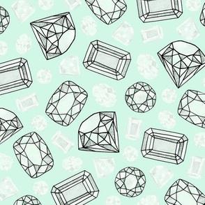 gemstones: diamonds