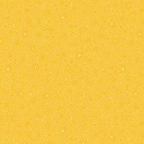 saffron stripey field